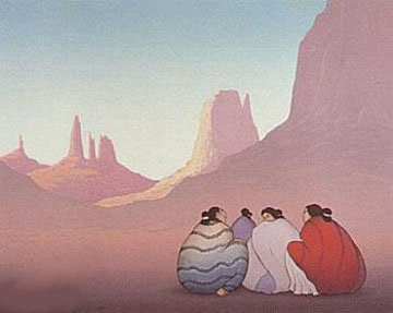 Monument Valley 1986 Limited Edition Print - R.C. Gorman