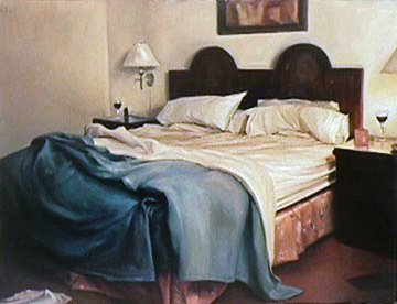 Mission 2002 37x43 Original Painting - Carrie Graber