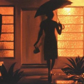 Warm Rain 2011 Limited Edition Print - Carrie Graber