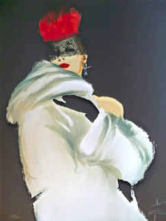 La Toque Rogue 1989 Limited Edition Print - Rene Gruau