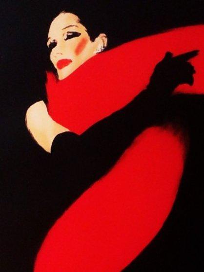 La Femme Et Noir 1990 By Rene Gruau