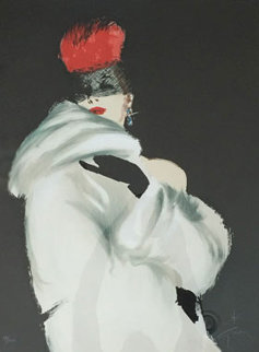 La Toque Rouge 1989 Limited Edition Print - Rene Gruau