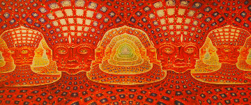 Net of Being 2002 Limited Edition Print - Alex Grey