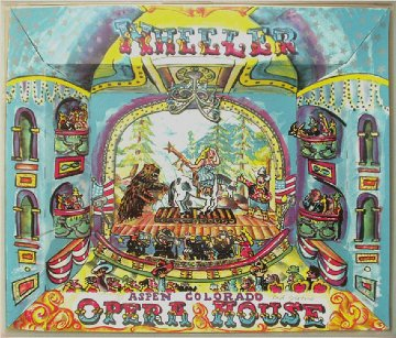Wheeler Opera House 3-D 1984 Limited Edition Print - Red Grooms