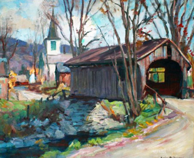 Covered Bridge, Vermont 1940