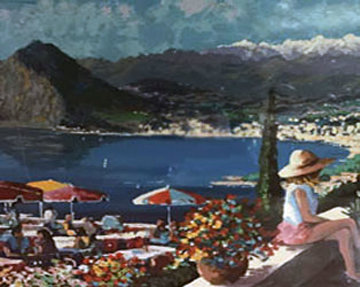 Lugano 1993 Limited Edition Print - Kerry Hallam
