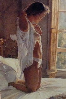 Sunshine Across the Sheets and Time Standing Still Limited Edition Print - Steve Hanks