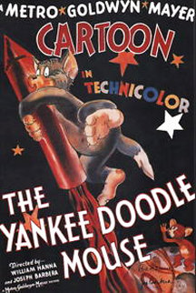 The Yankee Doodle Mouse Poster HS 1996 Limited Edition Print -  Hanna Barbera