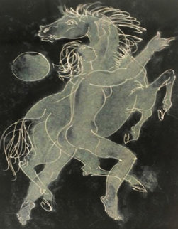 Untitled (Equus) 1954 Limited Edition Print - Hans Erni