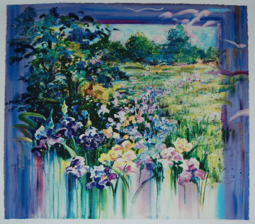 Iris Meadow PP 1977  Limited Edition Print - Rebecca Hardin