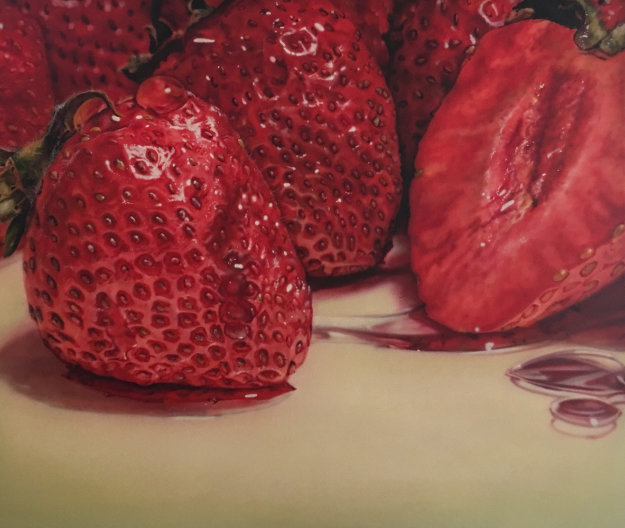 Strawberries 1979 55x64