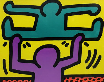 Untitled I 1987 Limited Edition Print - Keith Haring