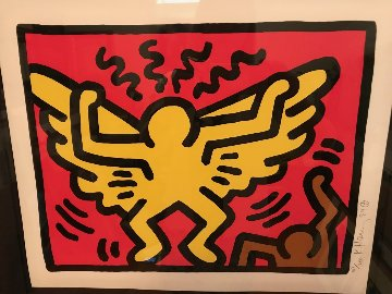 Pop Shop IV Limited Edition Print - Keith Haring