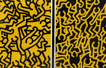 Playboy KH86 1990 Limited Edition Print - Keith Haring