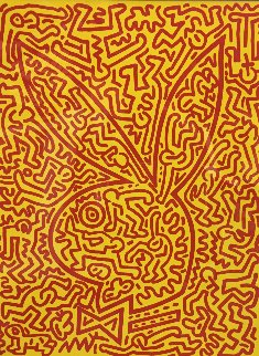 Bunny I Limited Edition Print - Keith Haring