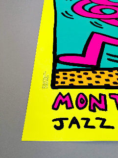 Montreux Jazz Festival I 1983 Limited Edition Print - Keith Haring