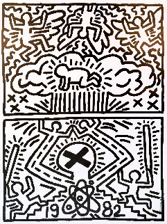 Nuclear Disarmament Limited Edition Print - Keith Haring