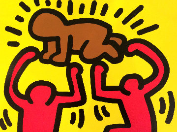 Pop Shop IV Radiant Baby 1989 Limited Edition Print - Keith Haring