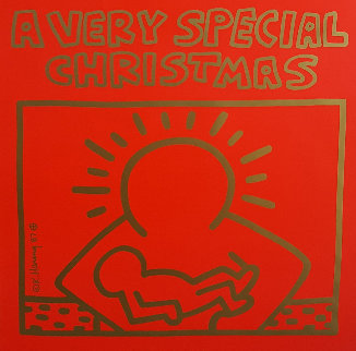 A Very Special Christmas - 15 Christmas Classics Poster Limited Edition Print - Keith Haring