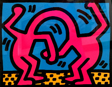 Pop Shop II 1988 Limited Edition Print - Keith Haring