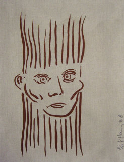 Joseph Beuys Portrait 1986 HS Limited Edition Print - Keith Haring
