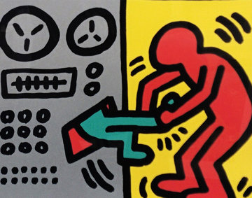 Pop Shop III (1) 1989 HS Limited Edition Print - Keith Haring