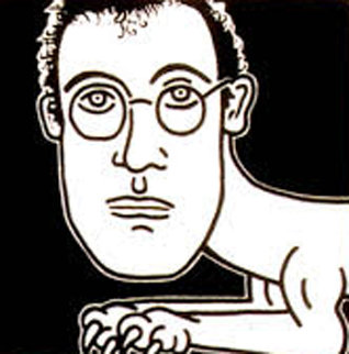 Self Portrait 1986 HS Limited Edition Print - Keith Haring