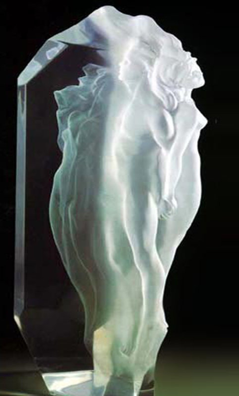 Transcendent Acrylic Sculpture 1991 19 in