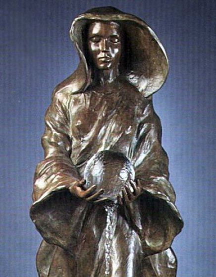 Source 1/2 Life Size Bronze 1995 34 in
