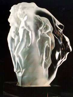 Breath of Life Lucite Sculpture 1990 Sculpture - Frederick Hart