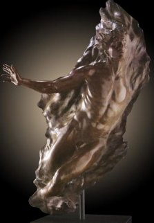 Ex Nihilo Figure 5 (Full Scale)  2006 Life Size Bronze Sculpture 74 in Sculpture - Frederick Hart
