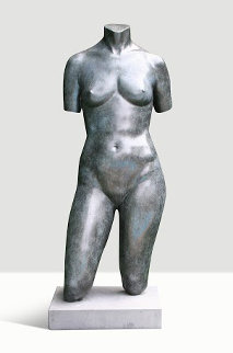 Female Torso Bronze Sculpture Collaborators Proof  1991 41 in   Sculpture - Frederick Hart