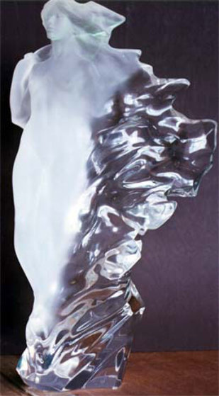 Veil of Light Acrylic Sculpture 1998