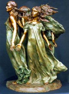 Daughters of Odessa Bronze Sculpture 1998 Sculpture - Frederick Hart