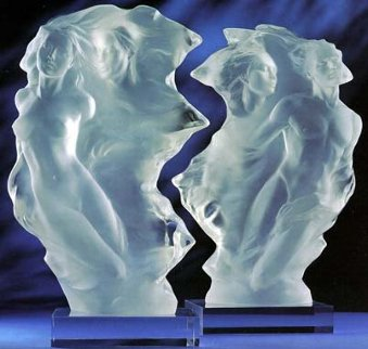 Duet set of 2 1/2 Life Size Acrylic Sculptures 24 in Sculpture - Frederick Hart