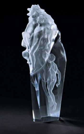 Make An Offer App >> Born of Light Acrylic Sculpture by Frederick Hart