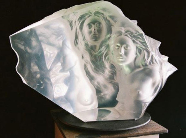 Counterpoint Acrylic Sculpture 1997