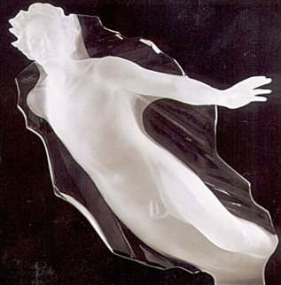 Sacred Mysteries Male Acrylic Sculpture 1983 Sculpture - Frederick Hart