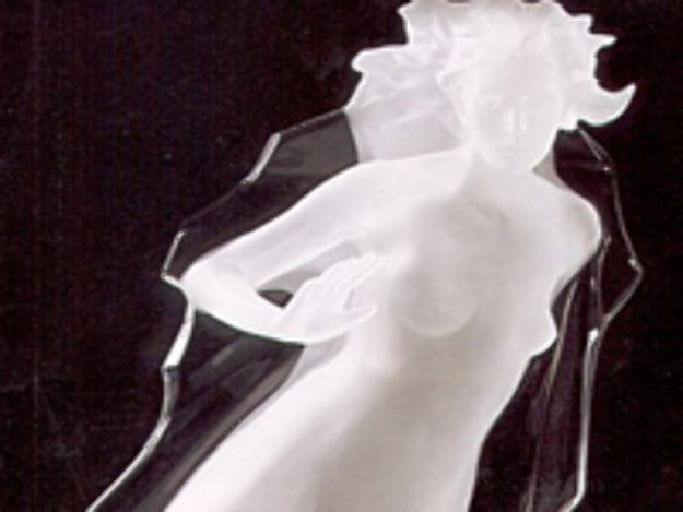 Sacred Mysteries: Acts of Light (Female) Acrylic Sculpture 1983