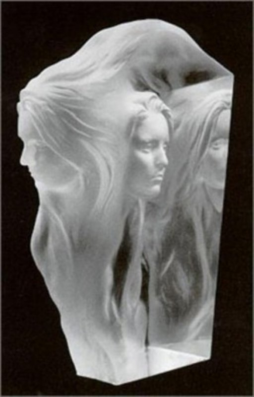 Reflections Acrylic Sculpture 1994