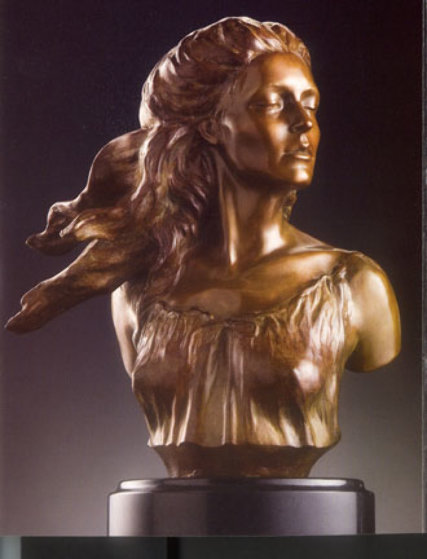 Muses Suite  of 4 2006 Bronze Sculptures  16 in