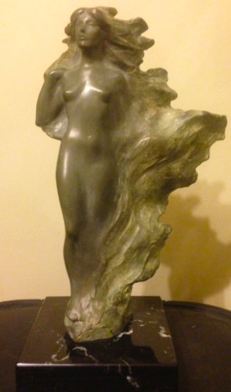 Veil of Light Bronze Sculpture 1987