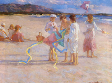 Flying Kites AP 1993 Limited Edition Print - Don Hatfield