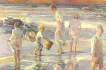 Frolicking At the Seashore PP 1998 Limited Edition Print - Don Hatfield