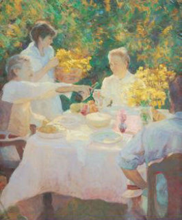 First Picnic Limited Edition Print - Don Hatfield