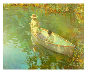 Lake Reflection 2000 Limited Edition Print - Don Hatfield