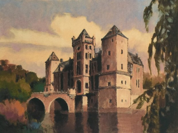 Chateau in Autumn, Suite of 4 Prints 1999