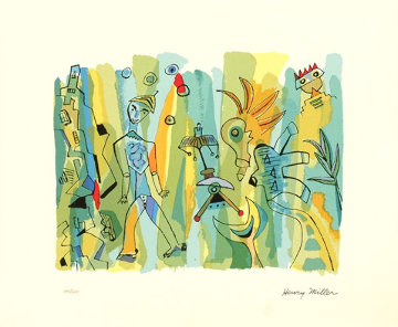 Sunday Afternoon Limited Edition Print - Henry Miller