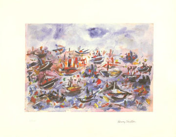 Battle of Trafalgar Limited Edition Print - Henry Miller