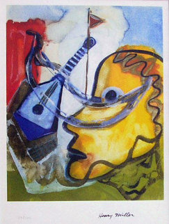 Pablo's Guitar Limited Edition Print - Henry Miller